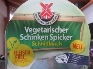 Vegetarischer Schinken Spicker Test