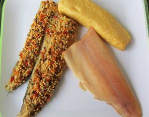 Forelle Makrele Butterfisch geräuchert Omega 3 Fettsäuren