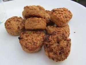 Rügenwalder vegetarische Frikadellen Nahaufnahme 1
