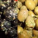 Worin liegt der Unterschied zwischen grünen Oliven und schwarzen Oliven?