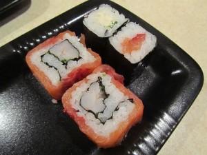 Sushi Fisch Qualitäten und vorher tiefgefrorene Ware