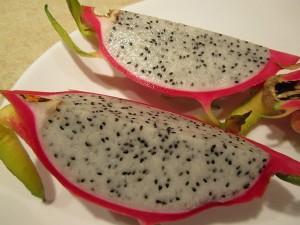 Drachenfrucht Pitahaya gesund aber geschmacklich wässrig