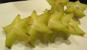 Ist die Sternfrucht Karambole schon reif oder noch unfreif