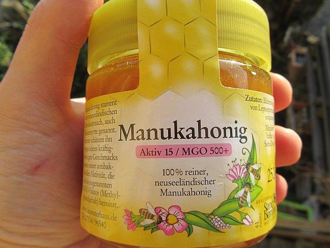 Echter Manuka Honig, Erfahrungen, Test und Bewertung des MGO 500+ Manukas vom Kräuterhaus Sanct Bernhard