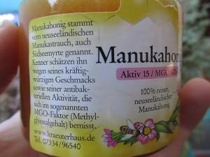 Wirkung und Geschmack Manuka Honig