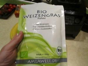 Bio Weizengras Verpackung im Test, mit guter Wiederverschließbarkeit