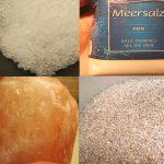 """Welche wichtigen Sorten von Salz gibt es und wie """"gesund"""" und schmackhaft sind diese?"""