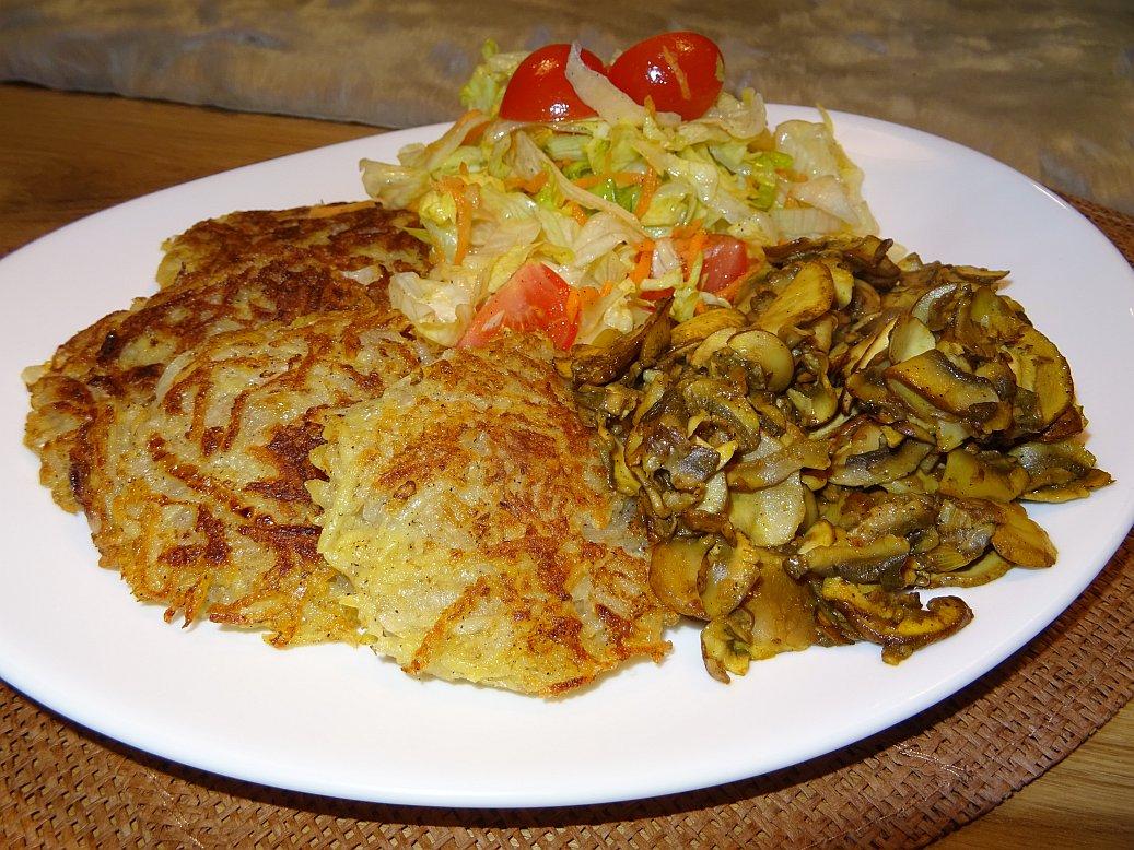 Gesunde Kartoffelpuffer - glutenfrei, ohne Ei, vegan, ohne Sojamehl oder andere Mehle sowie frei von künstlichen Zusatzstoffen zum selber machen – Mein Rezept