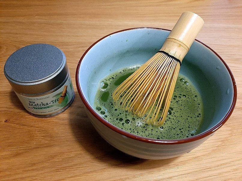 Matcha Tee – Wirklich so gesund oder nur ein wohlschmeckender und koffeinreicher Muntermacher?
